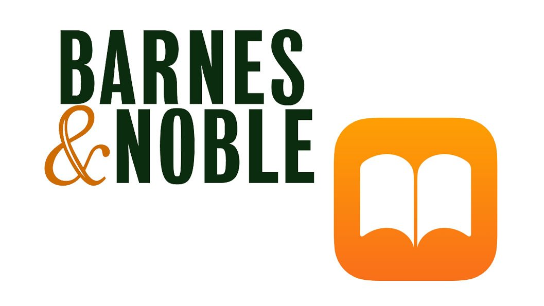 Apple Books and Barnes & Noble Logos