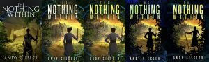 several variations of the book's cover